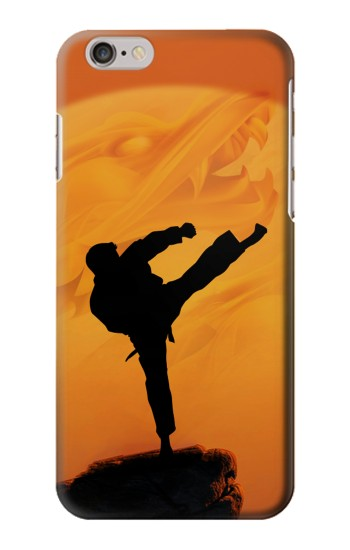 Printed Kung Fu Karate Fighter Iphone 6 plus Case