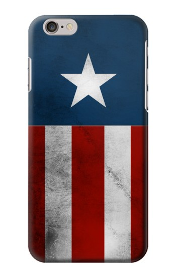 Printed Captain Star Flag of America Iphone 6 plus Case