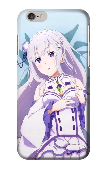 Printed Emilia Re Zero Starting Life in Another World Iphone 6 plus Case