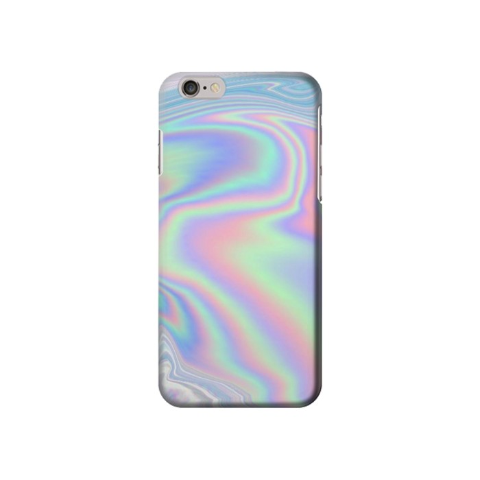 Printed Pastel Holographic Photo Printed Iphone 6 plus Case