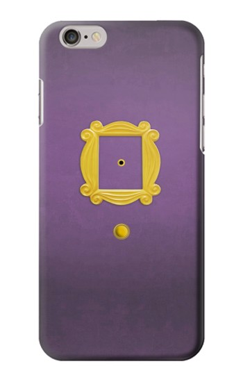Printed Friends Purple Door Minimalist Iphone 6 plus Case