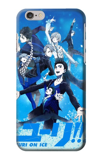 Printed Yuri On Ice Iphone 6 plus Case