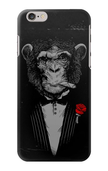 Printed Funny Monkey God Father Iphone 6 plus Case