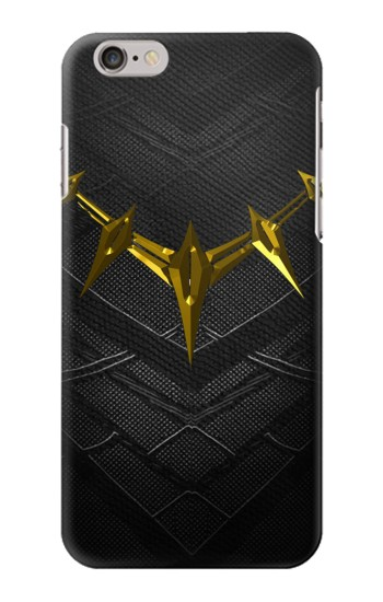 Printed Black Panther Inspired Costume Gold Necklace Iphone 6 plus Case