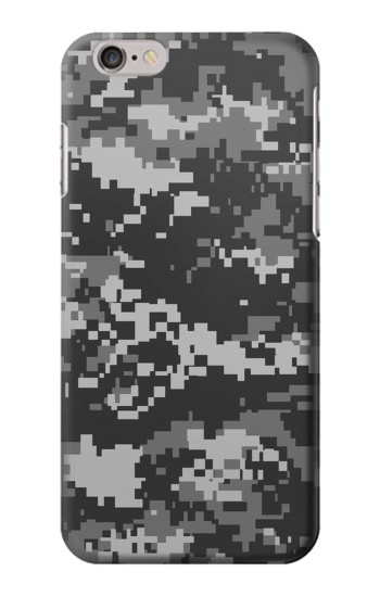 Printed Urban Black Camouflage Iphone 6 plus Case