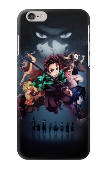 Printed Demon Slayer Kimetsu no Yaiba Iphone 6 plus Case