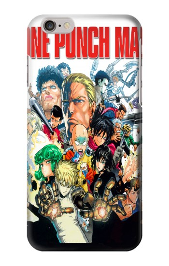 Printed One Punch Man Hero Association Iphone 6 plus Case