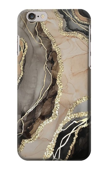 Printed Marble Gold Graphic Printed Iphone 6 plus Case
