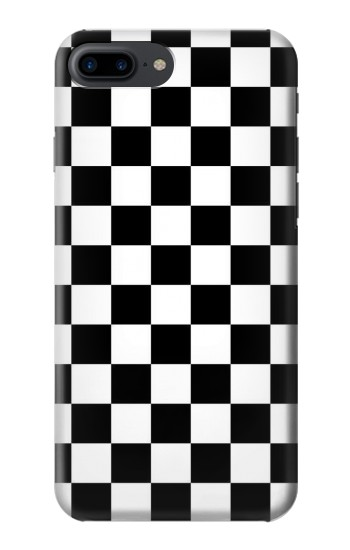 Printed Checkerboard Chess Board Iphone 7 plus Case