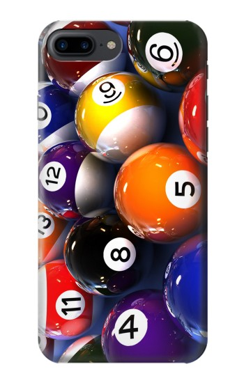 Printed Billiard Pool Ball Iphone 7 plus Case