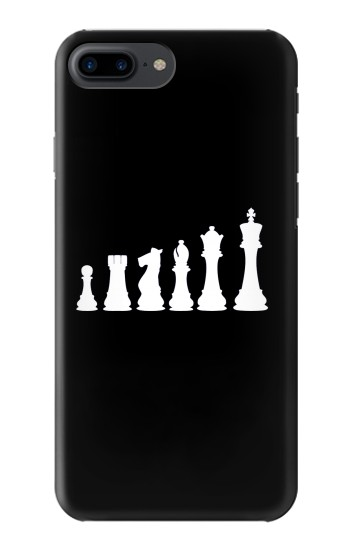 Printed Chess Pawn Rook Knight Bishop Queen King Iphone 7 plus Case