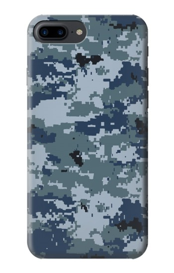 Printed Navy Camo Camouflage Graphic Iphone 7 plus Case