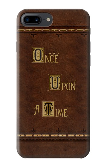 Printed Once Upon A Time Book Iphone 7 plus Case