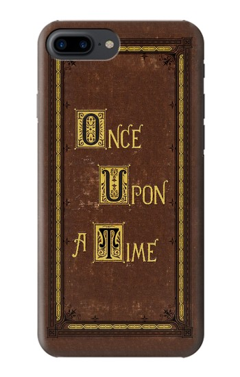 Printed Once Upon a Time Book Cover Iphone 7 plus Case