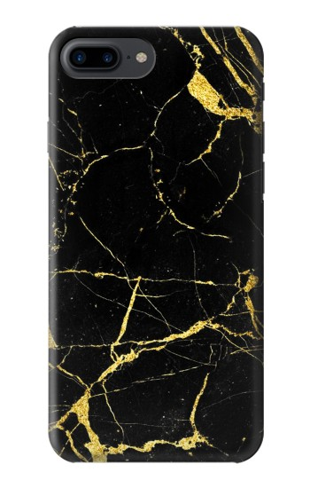 Printed Gold Marble Graphic Printed Iphone 7 plus Case