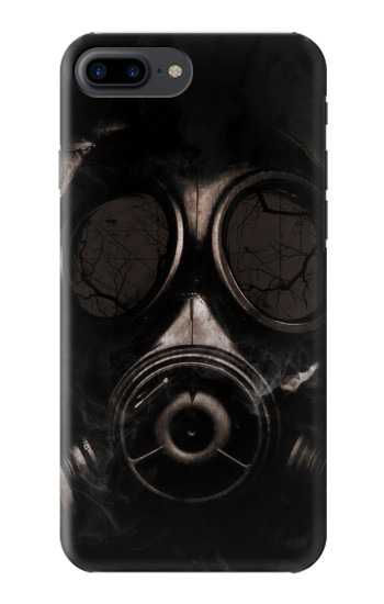 Printed Gas Mask Iphone 7 plus Case