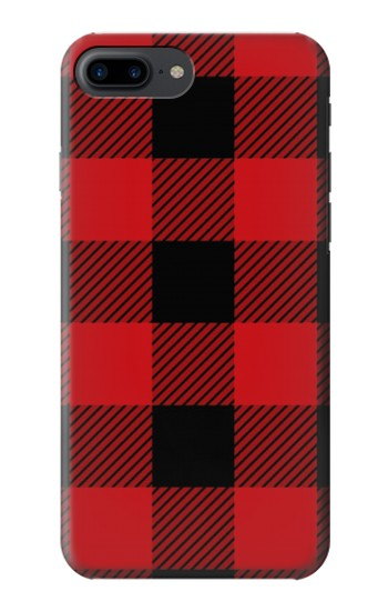 Printed Red Buffalo Check Pattern Iphone 7 plus Case