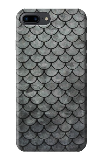 Printed Silver Fish Scale Iphone 7 plus Case