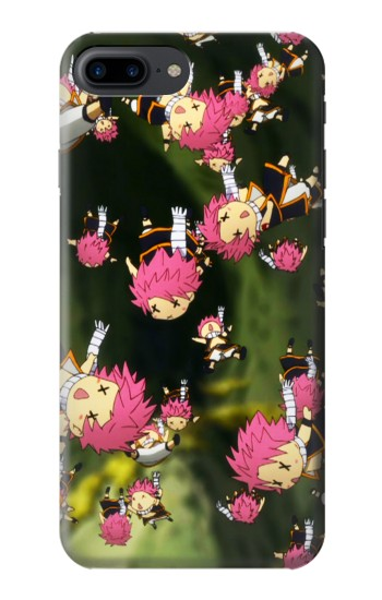 Printed Fairy Tail Little Natsu Fall Iphone 7 plus Case