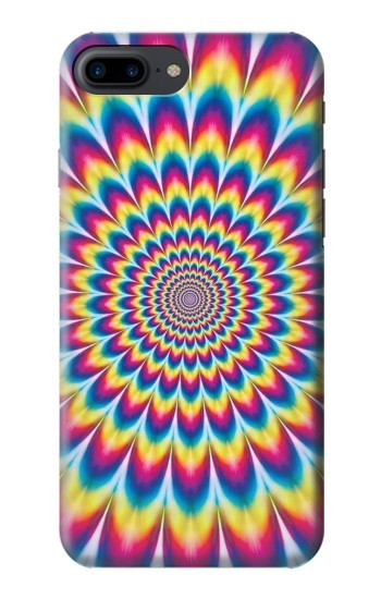 Printed Colorful Psychedelic Iphone 7 plus Case