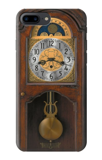 Printed Grandfather Clock Antique Wall Clock Iphone 7 plus Case