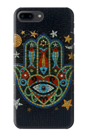 Printed Hamsa Hand Mosaics Iphone 7 plus Case