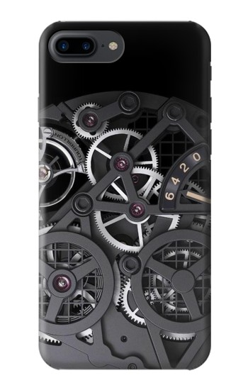 Printed Inside Watch Black Iphone 7 plus Case