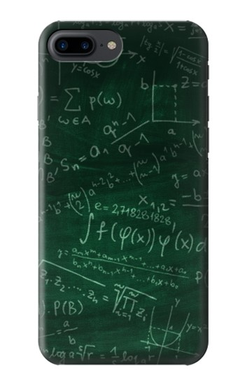 Printed Math Formula Greenboard Iphone 7 plus Case