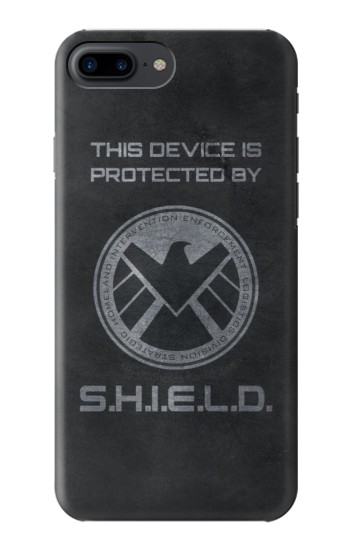 Printed This Device is Protected by Shield Iphone 7 plus Case