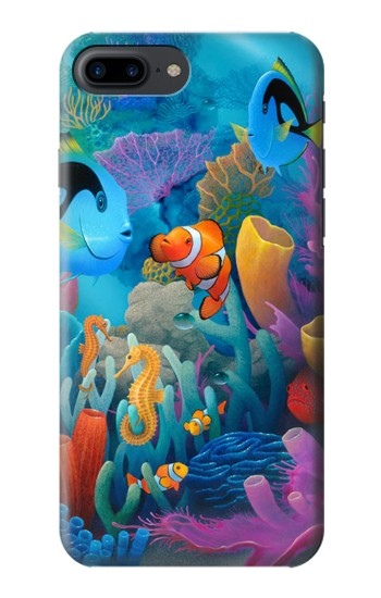 Printed Underwater World Cartoon Iphone 7 plus Case