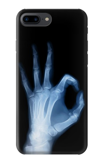 Printed X-Ray Hand Sign OK Iphone 7 plus Case