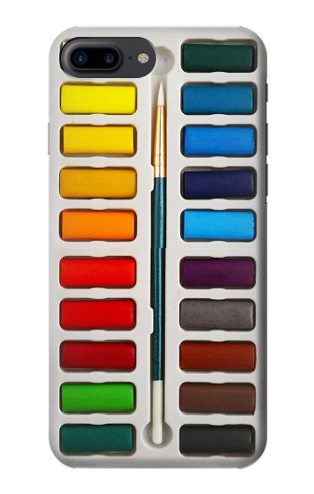 Printed Watercolor Paint Set Iphone 7 plus Case