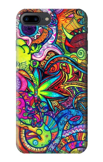 Printed Colorful Art Pattern Iphone 7 plus Case