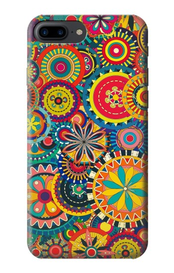 Printed Colorful Pattern Iphone 7 plus Case