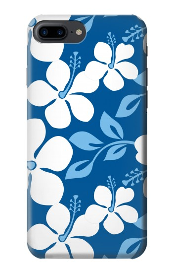 Printed Hawaii Blue Pattern Iphone 7 plus Case