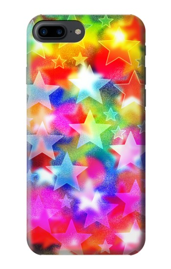 Printed Colourful Disco Star Iphone 7 plus Case