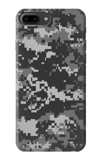 Printed Urban Black Camouflage Iphone 7 plus Case