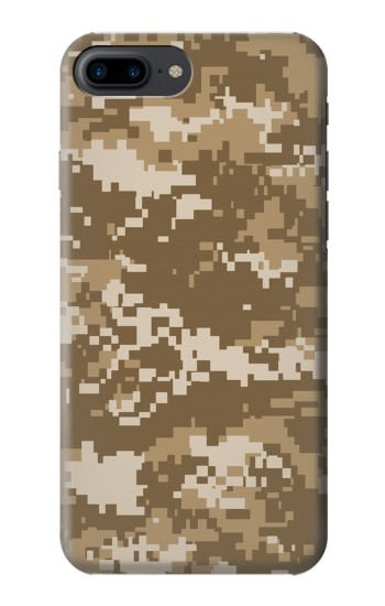 Printed Army Camo Tan Iphone 7 plus Case