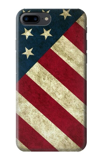Printed US National Flag Iphone 7 plus Case