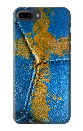 Printed Sweden Flag Vintage Football 2018 Iphone 7 plus Case
