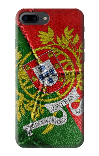 Printed Portugal Flag Vintage Football 2018 Iphone 7 plus Case