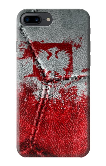 Printed Poland Flag Vintage Football 2018 Iphone 7 plus Case