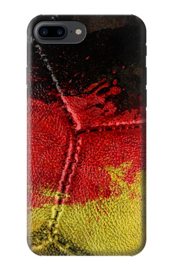 Printed Germany Flag Vintage Football 2018 Iphone 7 plus Case