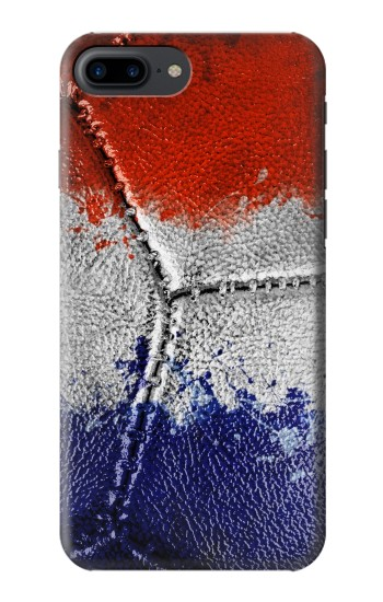 Printed France Flag Vintage Football 2018 Iphone 7 plus Case