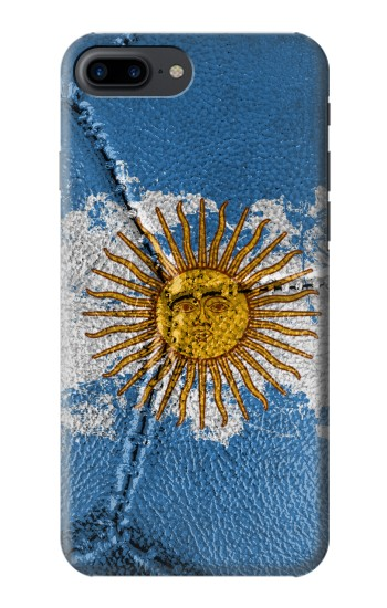 Printed Argentina Flag Vintage Football 2018 Iphone 7 plus Case