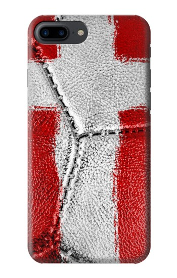 Printed Denmark Flag Vintage Football 2018 Iphone 7 plus Case