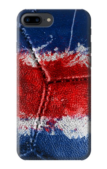 Printed Costa Rica Flag Vintage Football 2018 Iphone 7 plus Case