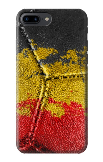 Printed Belgium Flag Vintage Football 2018 Iphone 7 plus Case