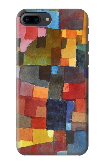 Printed Paul Klee Raumarchitekturen Iphone 7 plus Case