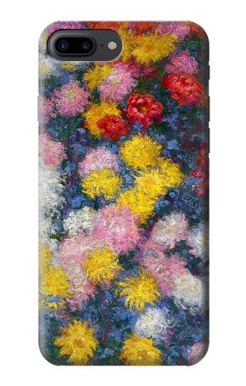 Printed Claude Monet Chrysanthemums Iphone 7 plus Case